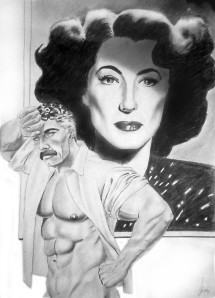Joan Crawford by Lanier Smith
