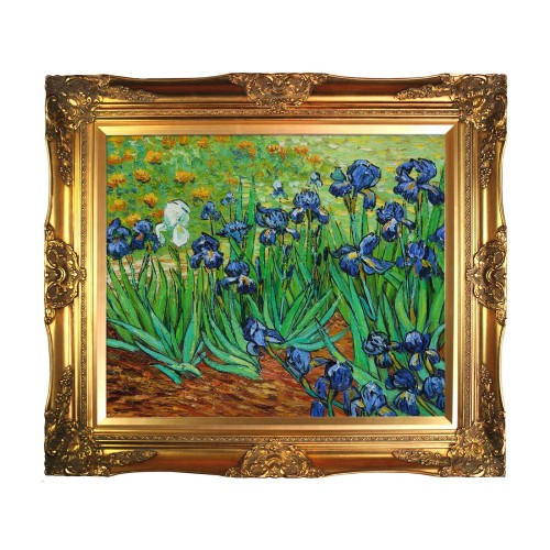 van_gogh_irises_framed