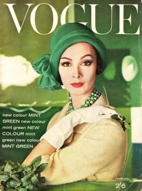 Vogue cover greeen