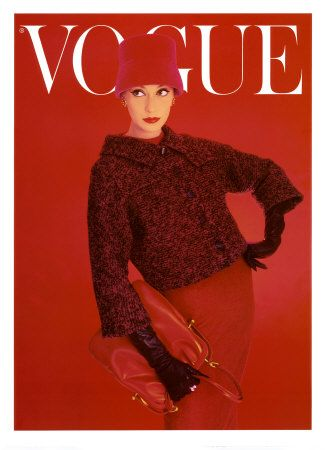 Vogue cover red