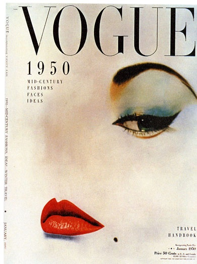 Vogue lips and eye
